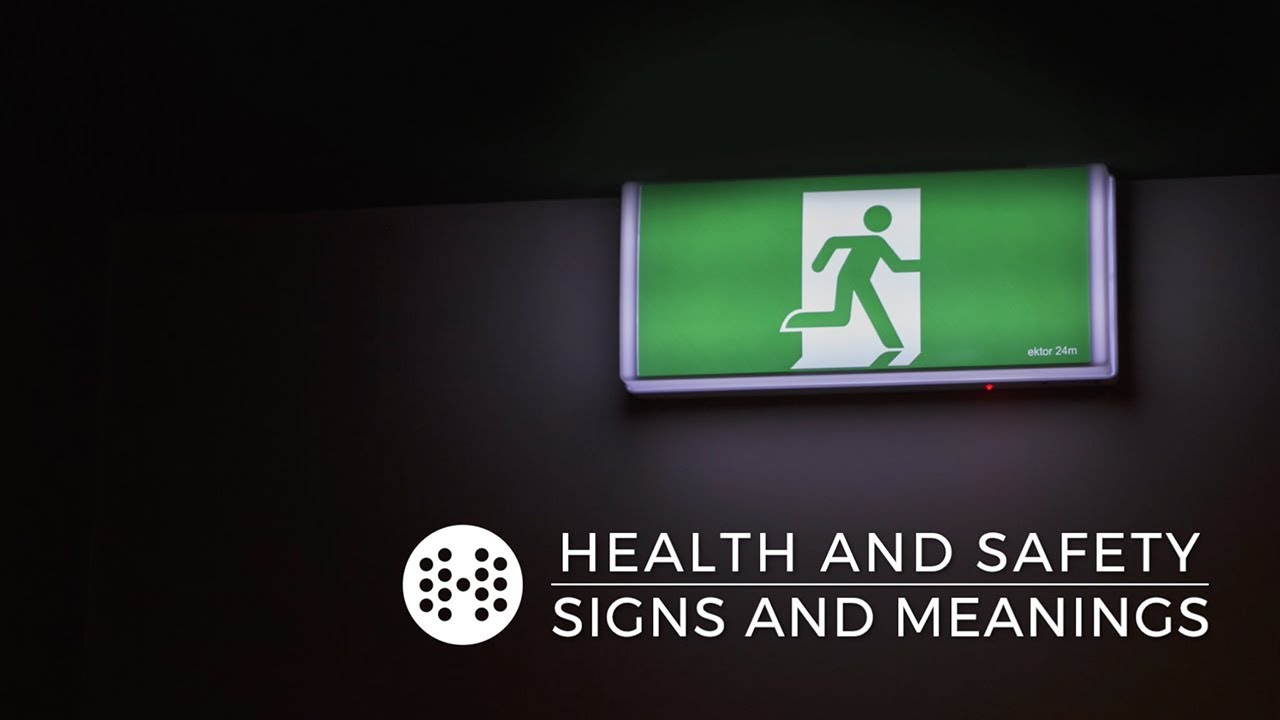 The 5 Health And Safety Signs And Their Meanings Haspod