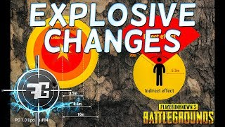 PUBG UPDATE 14 - Explosive Changes, Weapon and Attachment Balance in the latest Battlegrounds Patch