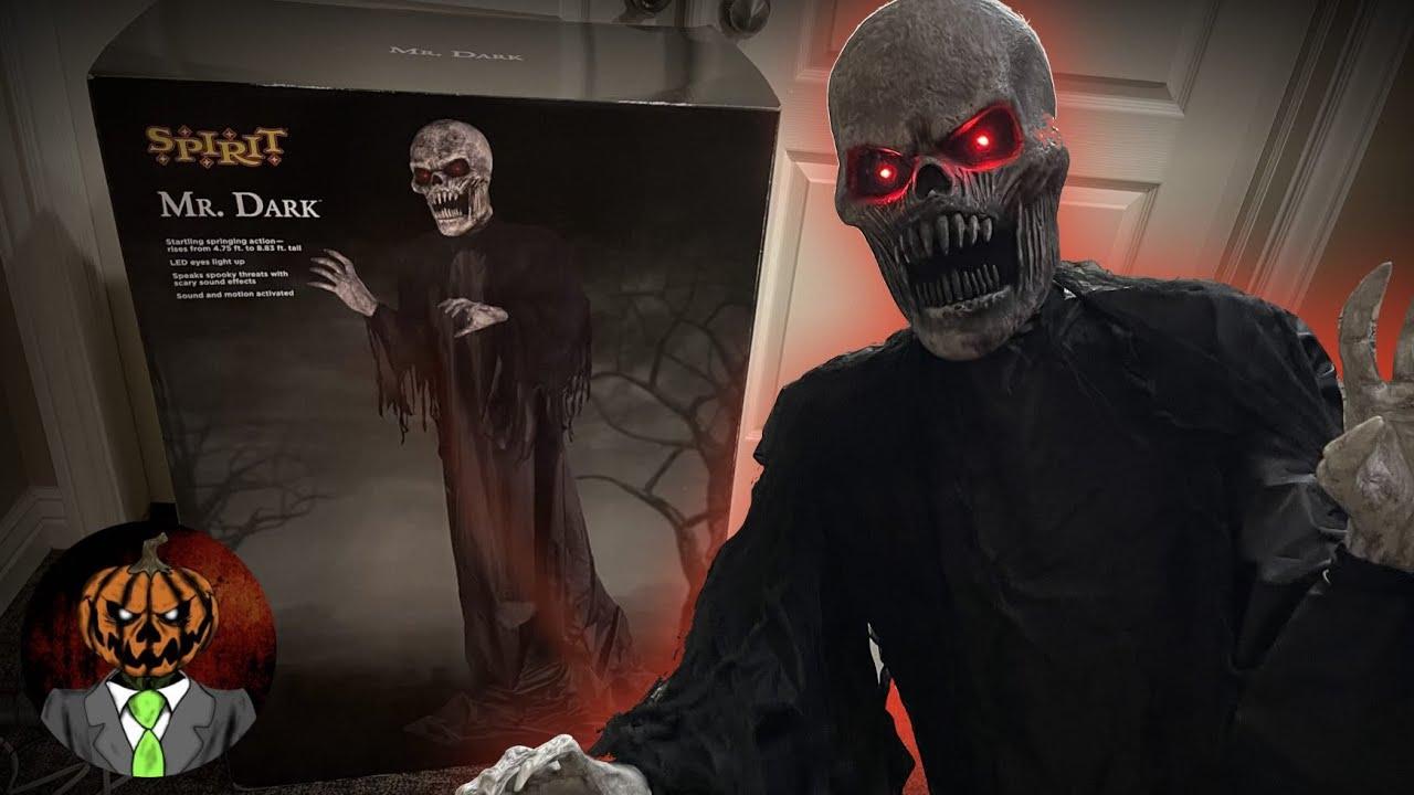 Mr. Dark UNBOXING/SETUP & OVERVIEW - Spirit Halloween 2021 Animatronic