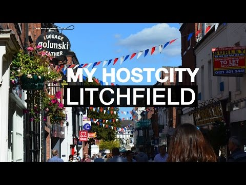 Utbytesstudenten Stinas nya hemstad i Storbritannien - Stina vlogg #2