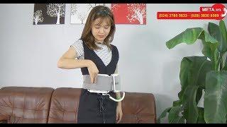 Đánh tan mỡ bụng với máy massage bụng Buheung MK-207 - META.vn