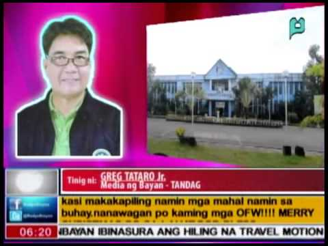 [RadyoBisyon] Phone interview of Fr. Arnold Abelardo (12/24/14) [Episode 58]