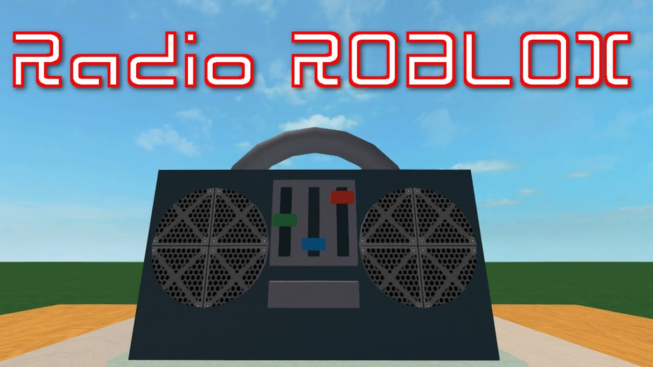 how to get a free radio in roblox