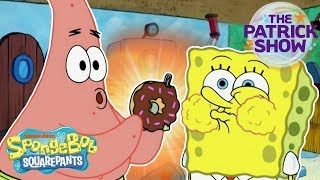 The Patrick Show: The Birthday Party 🍩 | #SpongeBobSaturdays