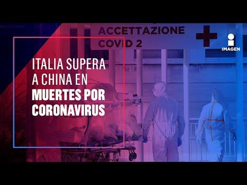 Ya no caben ataúdes en Italia por Coronavirus | Noticias con Ciro Gómez Leyva