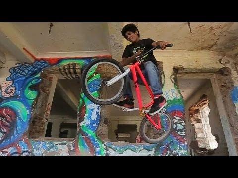 Abandoned School BMX Freestyle 2013