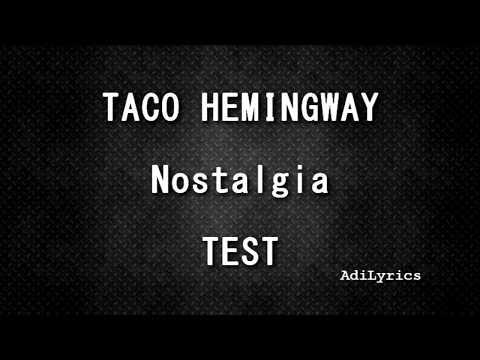 "Taco Hemingway - ""Nostalgia"" TEKST"