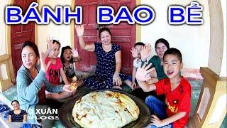 O Xuân Vlogs | Làm Bánh Bao Khổng Lồ Mà Bị Bể