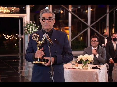 Eugene Levy Earns First Acting Emmy For 'Schitt's Creek', Thanks ...
