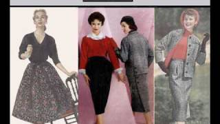 Women's fashions: year by year: 1949-1980