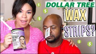 DOLLAR TREE GET IT OR FORGET: $1 WAX STRIPS! DOLLAR STORE PRODUCT REVIEWS YOU MUST WATCH!