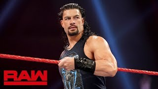 """Roman Reigns' defiance sparks a """"Wild Card Rule"""": Raw, May 6, 2019"""