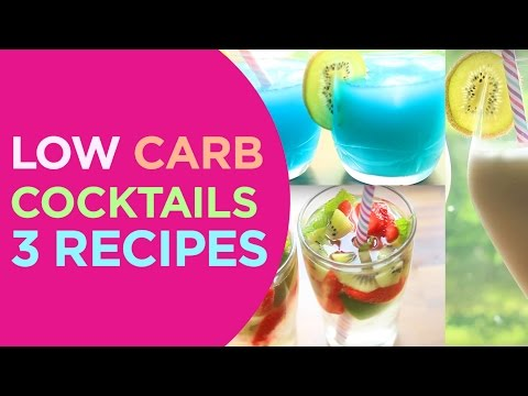 Sugar-Free Cocktails���� | Pina Colada, ��Berry Mojito & Tiffany & Co Drink ����