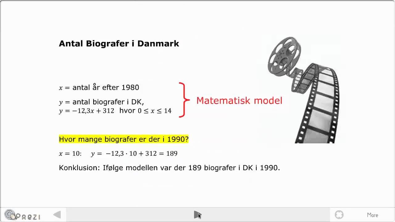 Matematiske modeller (C niveau)