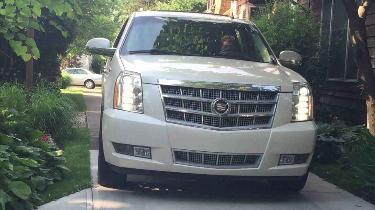 2009 Cadillac Escalade Esv Platinum Switchback Led Turn Signals And Fog Lights