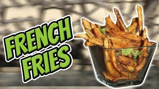 BEST French Fries Recipe for a Lean Diet!