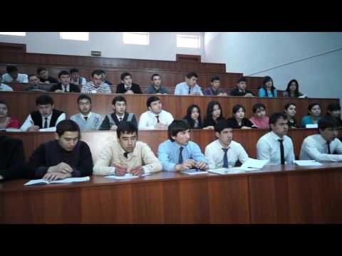 Tashkent State University of Economics   History and today