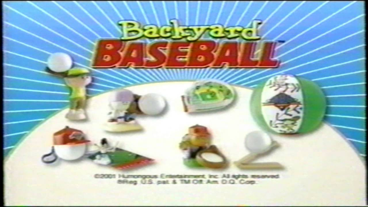 dairy queen kids meal backyard baseball toy tv commercial youtube