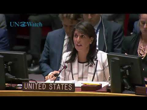 Nikki Haley: 'Outrageous' for Security Council to fail to condemn Hamas rocket attacks