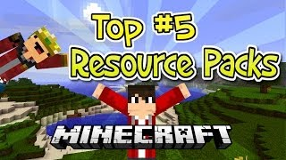 Top 5 Resource Pack Review Minecraft 1.7.9 Thumbnail