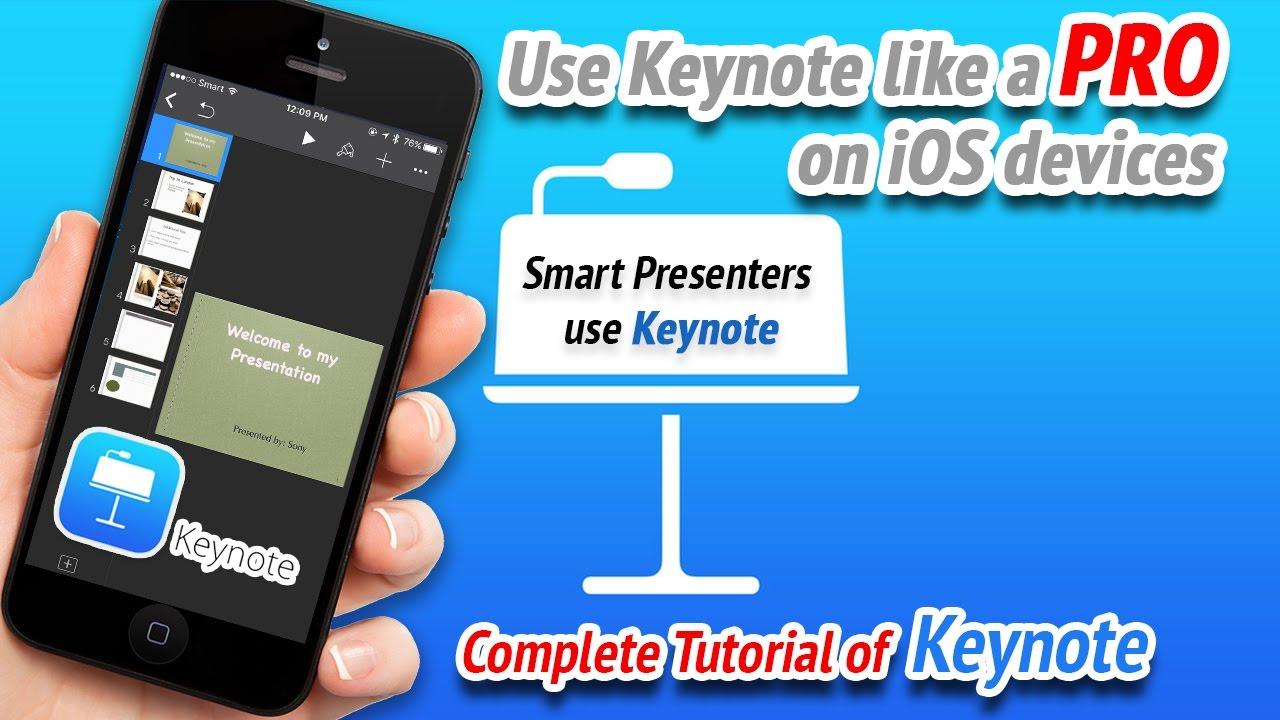 Keynote 2017 - Complete Keynote 2017 tutorial on iPhone and iPad (Full  Keynote tutorial iOS device)