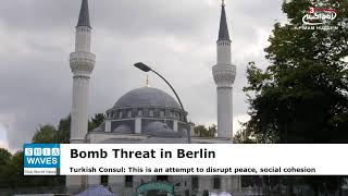 Bomb threat sent to Berlin mosque