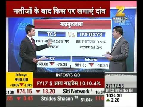 Analysis of Infosys and TCS Q-3 Results