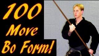 100 Move Bo Kata