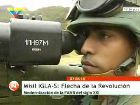 Misil del Ejercito venezolano IGLAS