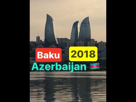 BAKU AZERBAIJAN TRAVEL VLOG 2018 |TOUR| VLOG #5