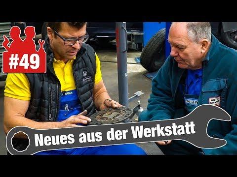 Krümmer schweißen am VW Polo | Getriebereparatur am Nissan