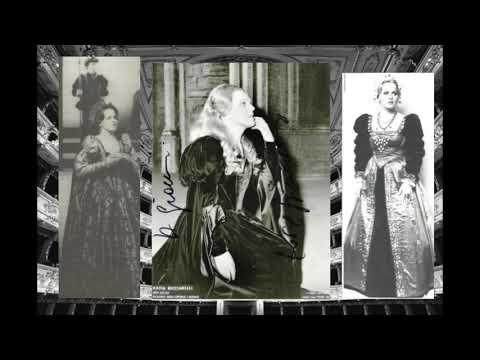 "Katia Ricciarelli As Anna Bolena ""Come, Innocente Giovine"" (Parma, 1977)"