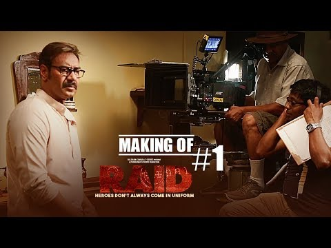 Making of Raid | Ajay Devgn | Ileana D'Cruz