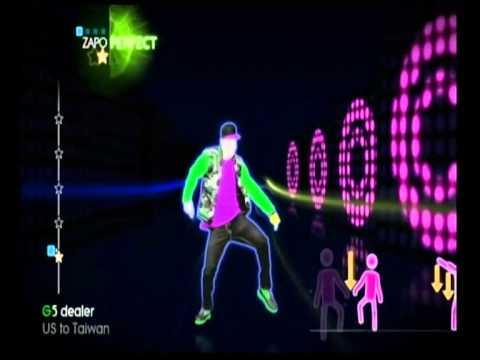Wii Just Dance Flo Rida Good Feeling Gameplay Hdmi