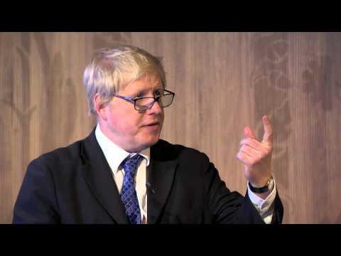 The Sackler Lecture 2015: Boris Johnson