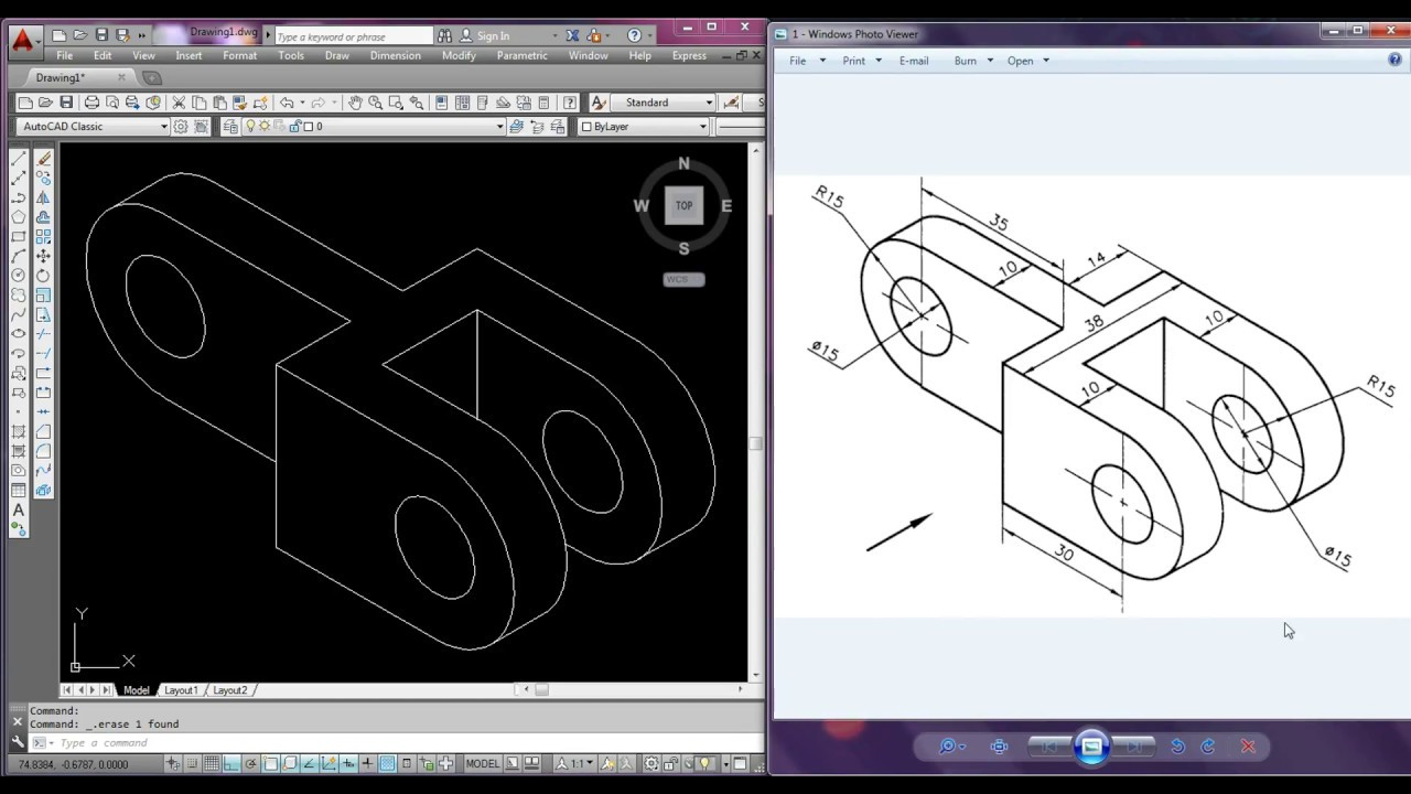 How to make isometric drawing in Autocad ?