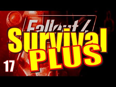Fallout 4 Survival Mode Walkthrough Part 17 - The Super Mutant Hotel Mass Fusion Run
