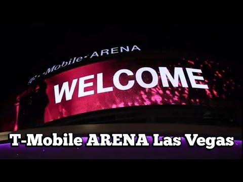 T Mobile Arena Las Vegas - Home of Las Vegas NHL Hockey Team Part 1