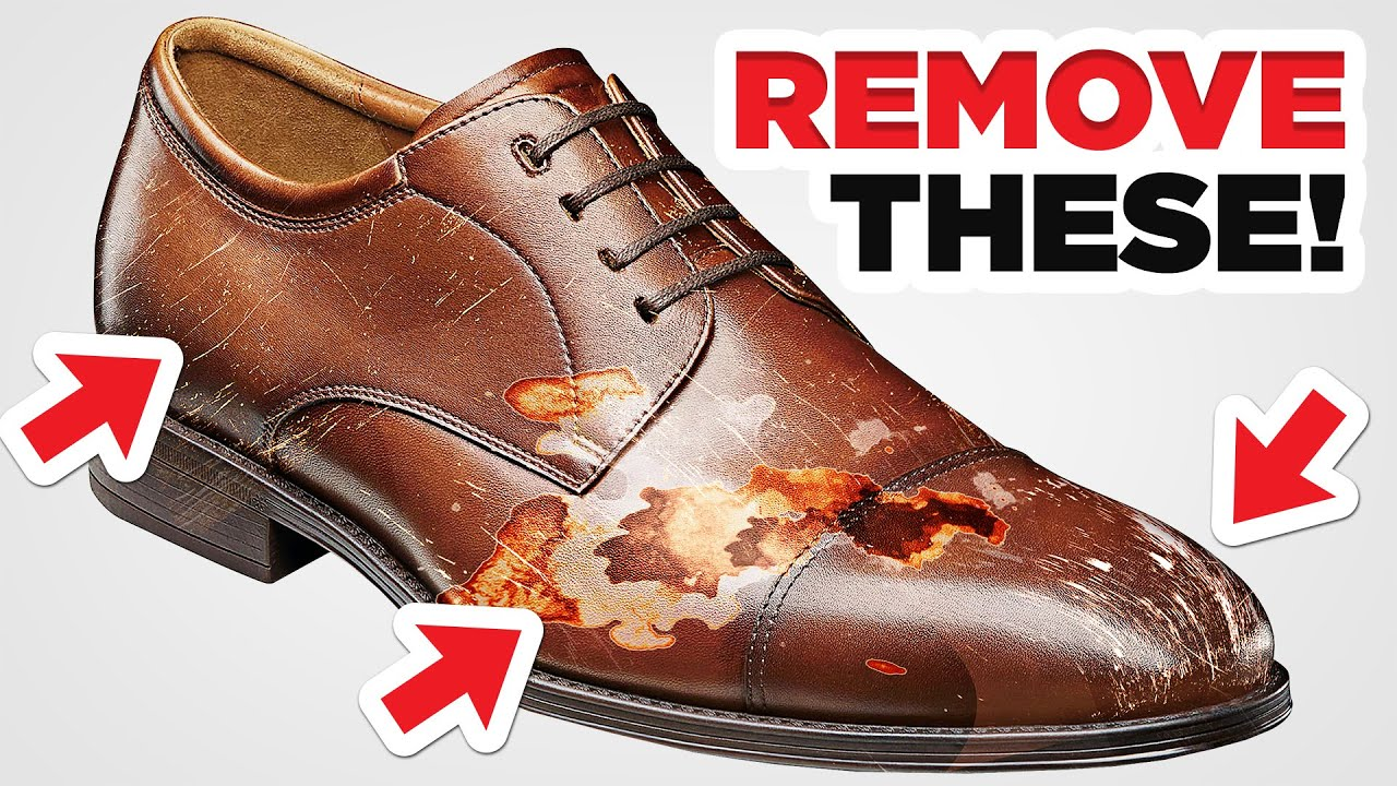 Stains Scratches And Scuffs How To Remove Them From Dress Shoes You