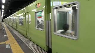 【フルHD】JR関西線201系 今宮(Q18)駅発車 2