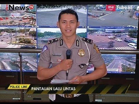 Pantauan Arus Lalu Lintas di sejumlah Titik Jakarta dari NTMC Polri - Police Line 20/10