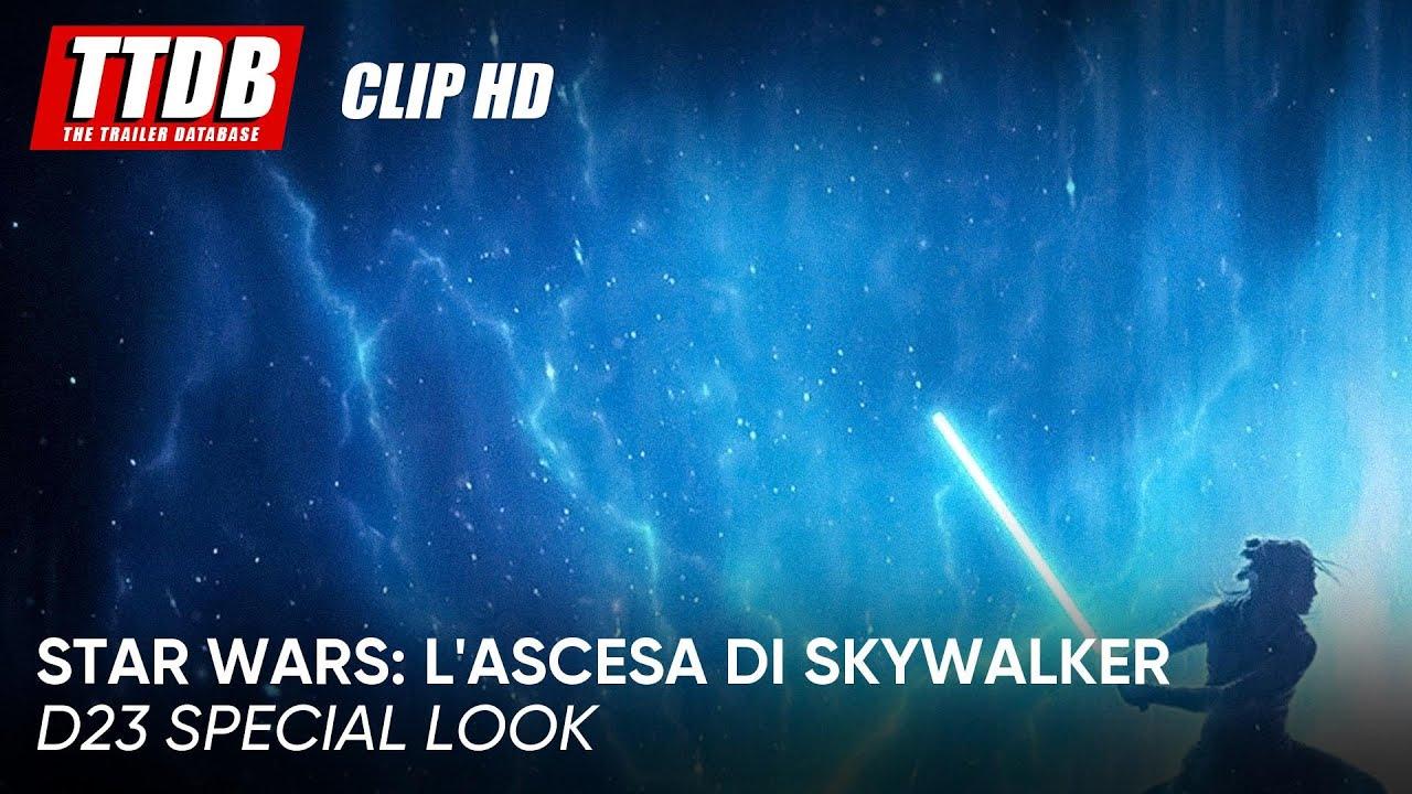Star Wars: L'ascesa di Skywalker | Clip: D23 Special Look