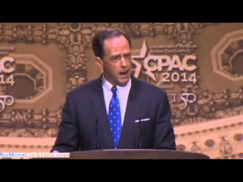 [FULL SPEECH] Pat Toomey speaks about the defeat of Debo Adegbile at CPAC 2014