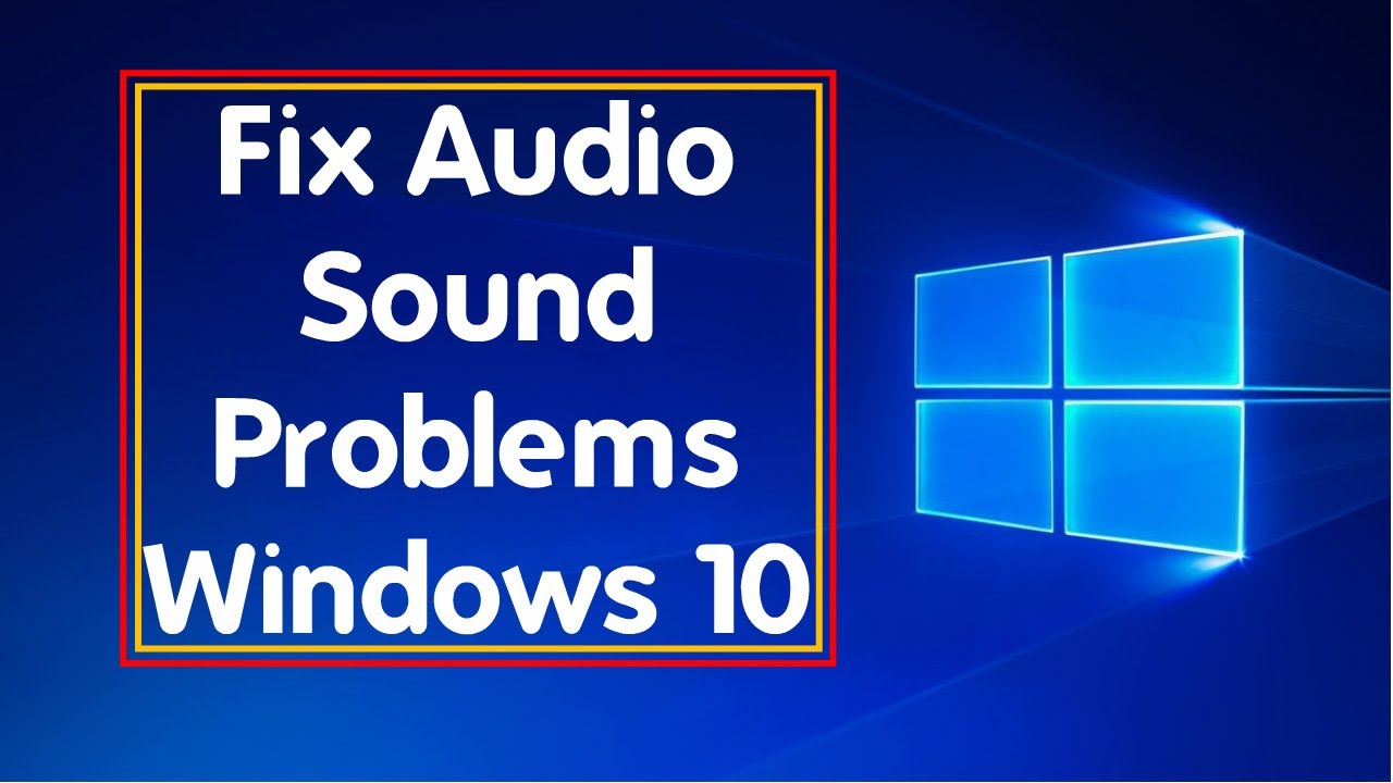 Fix Problem High Definition Audio Device In Windows 10 - BlueLightTECH