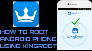 Gambar cover How to ROOT android phone using KINGROOT 2018