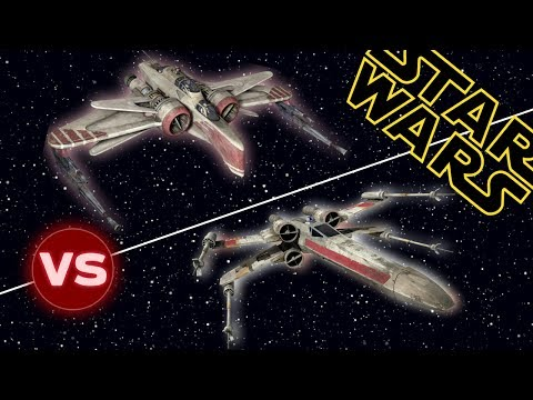 X-Wing vs ARC 170 Starfighter   Star Wars: Who Would Win