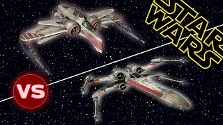 X-Wing vs ARC 170 Starfighter | Star Wars: Who Would Win