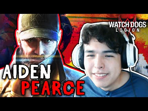 Watch Dogs: Legion - Aiden Pearce Teaser Trailer REACTION NEW Gameplay (Ubisoft Forward 2020)