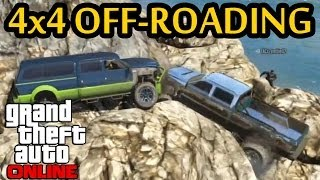 ★ GTA 5 - Group Off-Road 4x4 | Rock Crawl | Livestream Highlight(Here's a highlight from one of my livestreams, a group 4x4 off-road session along the beach that we had. Enjoy! My stream: http://www.twitch.tv/gtchy1230 ..., 2014-01-26T00:32:50.000Z)