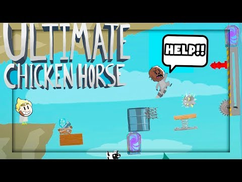 HOW TO TROLL YOUR FRIENDS IN 1,2,3 - ULTIMATE CHICKEN HORSE w/ TEWTIY
